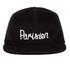Maison Kitsuné Men's 5P Parisien Cap - Black: Image 1