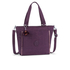 Kipling Women's Small Shopper Bag - Plum Purple: Image 1