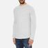 Selected Homme Men's Ludvig Long Sleeve Top - Light Grey Melange: Image 2