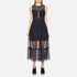 Three Floor Women's Narcissa Dress - Midnight Blue/Black: Image 1
