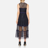 Three Floor Women's Narcissa Dress - Midnight Blue/Black: Image 3