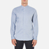 PS by Paul Smith Men's Grandad Collar Shirt - Blue: Image 1
