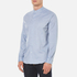 PS by Paul Smith Men's Grandad Collar Shirt - Blue: Image 2