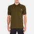 PS by Paul Smith Men's Regular Fit Zebra Polo Shirt - Khaki: Image 1