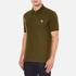 PS by Paul Smith Men's Regular Fit Zebra Polo Shirt - Khaki: Image 2