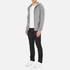 PS by Paul Smith Men's Hooded Zip Through Hoody - Grey: Image 4