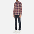 PS by Paul Smith Men's Checked Long Sleeve Shirt - Red: Image 4