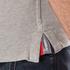 Superdry Men's Classic Pique Short Sleeve Polo Shirt - Grey Marl: Image 6