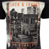 Jack & Jones Herren Originals Coffer T-Shirt - Schwarz: Image 3