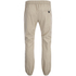 Brave Soul Men's Fine Cuffed Chinos - Stone: Image 2