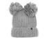 Karl Lagerfeld Women's Pom Pom Beanie - Mouse Grey: Image 1
