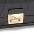 Karl Lagerfeld Women's K/Reptile Mini Handbag - Black: Image 5