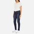 Levi's Women's 710 Super Skinny Fit Jeans - Amber Night: Image 4