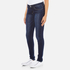 Levi's Women's 710 Super Skinny Fit Jeans - Amber Night: Image 2