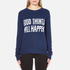 Levi's Women's Favourite Crew Neck Sweatshirt - Yacht Embroidery: Image 1