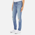 Levi's Women's 711 Skinny Fit Jeans - Goodbye Heart: Image 2
