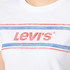 Levi's Women's Vintage Perfect T-Shirt - Stripe White: Image 5