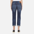 Levi's Women's 501 CT Tapered Fit Jeans - Roasted Indigo: Image 3