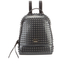 Furla Women's Candy Peter Pan Small Backpack - Onyx Metal: Image 1