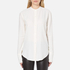 Helmut Lang Women's Back Knot Long Sleeve Blouse - White: Image 1