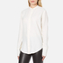 Helmut Lang Women's Back Knot Long Sleeve Blouse - White: Image 2
