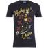 DC Bombshells Men's Harley Quinn T-Shirt - Black: Image 1