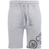 Crosshatch Men's Pacific Jog Shorts - Grey Marl: Image 1