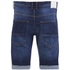 Crosshatch Men's Skylo Denim Shorts - Dark Wash: Image 2