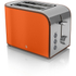 Swan ST17020ON 2 Slice Retro Toaster - Orange: Image 1