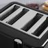 Tower T20010 4 Slice Toaster - Black: Image 2