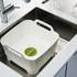 Joseph Joseph Wash And Drain Washing Up Bowl - Grey: Image 2