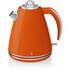 Swan SK24030ON 1.5L Jug Kettle - Orange: Image 1