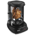 Tower Rotating Vertical Rotisserie Grill with Fish Basket - Black: Image 2