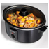Morphy Richards Black Sear and Stew Slow Cooker 3.5L - Stainless Steel: Image 2
