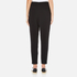 Paisie Women's Draped Boyfriend Trousers - Black: Image 3