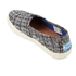 TOMS Women's Avalon Slip-On Trainers - Black/White Boucle: Image 4