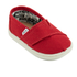 TOMS Toddlers' Seasonal Classics Slip-On Pumps - Red: Image 2