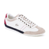 Lacoste Men's Misano 15 LCR SRM Trainers - Off White/Blue/Red: Image 2