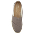 TOMS Women's University Classics Slip-On Pumps - Dark Grey Stripe: Image 3