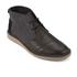 TOMS Men's Mateo Leather/Herringbone Chukka Boots - Black: Image 2