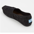 TOMS Women's Seasonal Classics Slip-On Pumps - Black Crochet Glitter: Image 4
