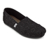 TOMS Women's Seasonal Classics Slip-On Pumps - Black Crochet Glitter: Image 2