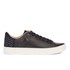 TOMS Men's Lenox Leather Cupsole Trainers - Black: Image 1