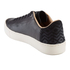 TOMS Men's Lenox Leather Cupsole Trainers - Black: Image 4