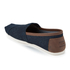 TOMS Men's Seasonal Classic Slip-On Pumps - Dark Denim with Trim: Image 4