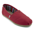 TOMS Women's Core Classics Slip-On Pumps - Red: Image 2