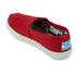 TOMS Kids' Seasonal Classics Slip-On Pumps - Red: Image 4
