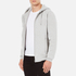 Wood Wood Men's Leonard Zipped Hoody - Grey Melange: Image 2