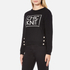 Boutique Moschino Women's Chic Knitted Jumper - Black: Image 2