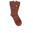 Folk Men's Flecked Single Socks - Rust Melange: Image 1